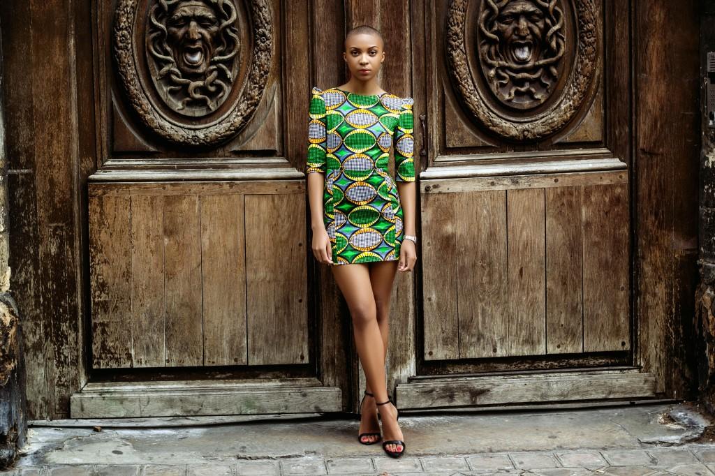 Robe Makeba by Natacha Baco