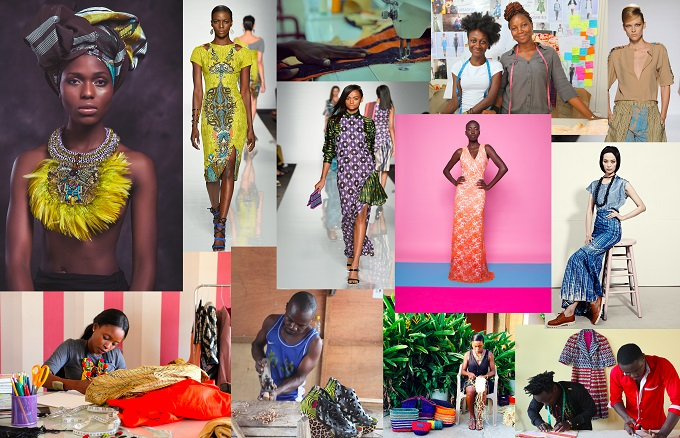 ITC Ethical Fashion Initiative African Design Competition Artwork.