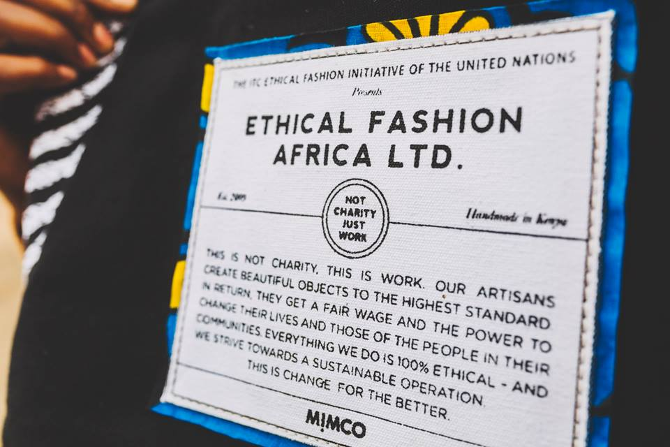 Not Charity, Just Work. MIMCO