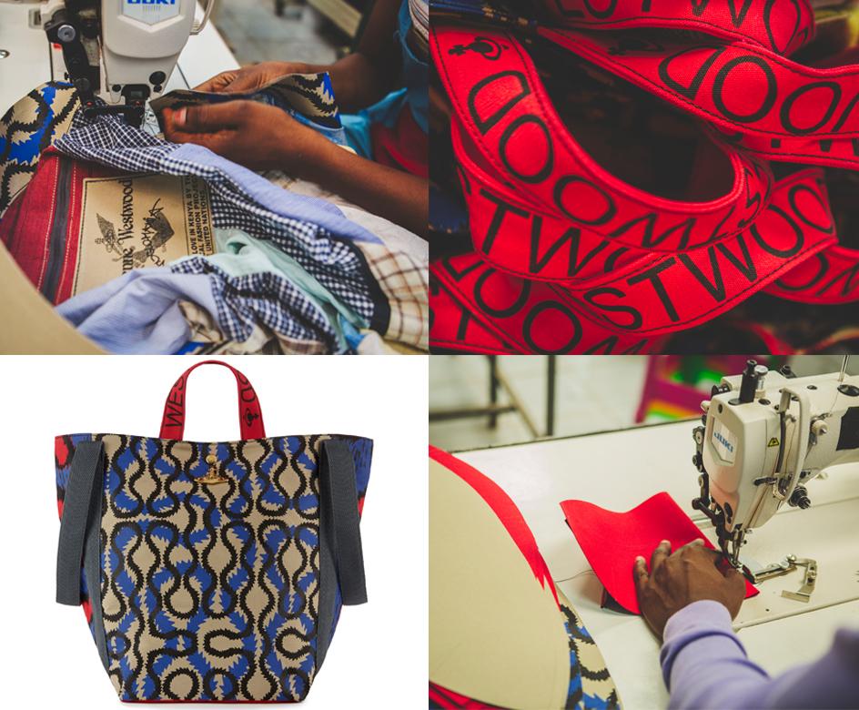 Vivienne Westwood x Ethical Fashion Initiative 10th Seasons (c) Louis Nderi & Vivienne Westwood