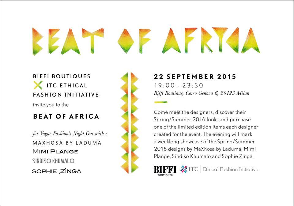 Beat Of Africa x ITC Ethnical Fashion Initiative