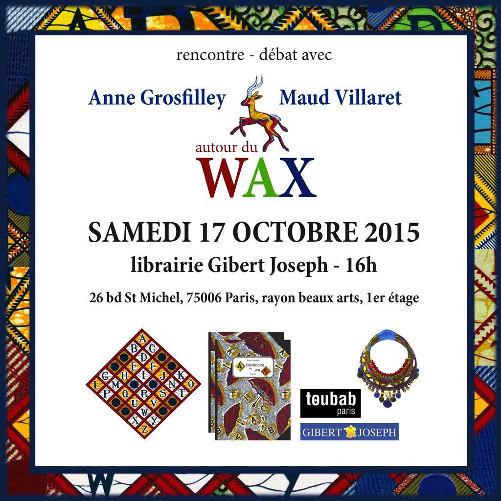 Samedi 17 Octobre 2015 - Librairie Gilbert Jospeh PARIS