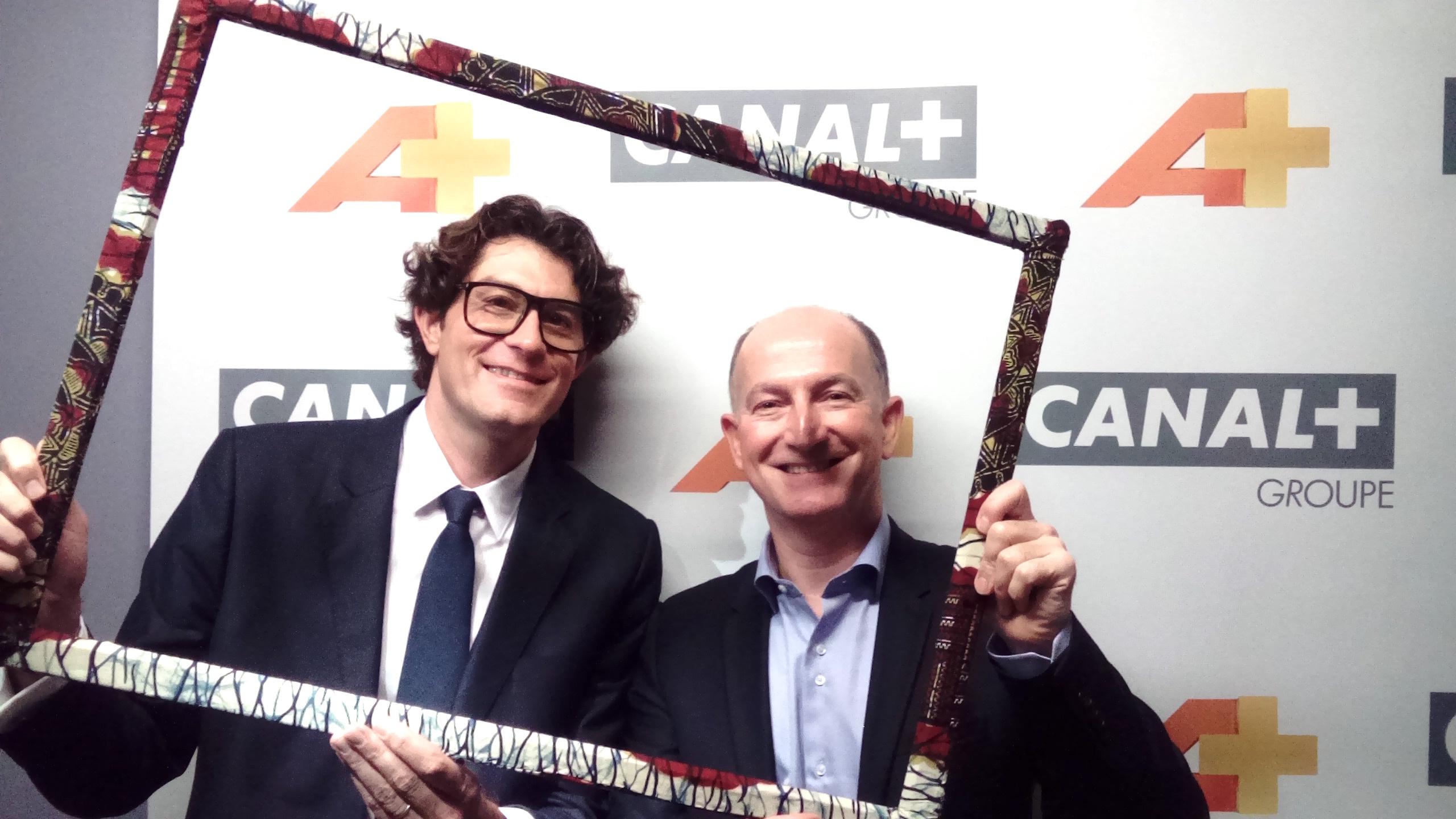 Damiano MALCHIODI et François DEPLANCK (Groupe Canal +)